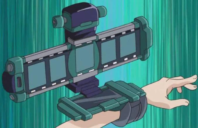 The Shuttercam Disk (Duel Disk mode; back)