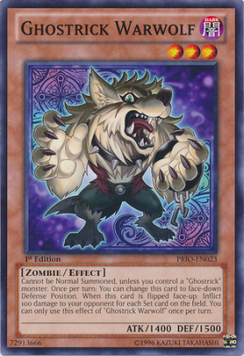 Ghostrick Warwolf PRIO
