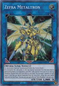 YuGiOh! TCG karta: Zefra Metaltron