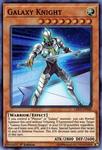 YuGiOh! TCG karta: Galaxy Knight