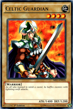 Yu-Gi-Oh! Cards Gallery || Celtic Guardian 300?cb=20160415071241