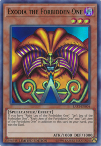 YuGiOh! TCG karta: Exodia the Forbidden One