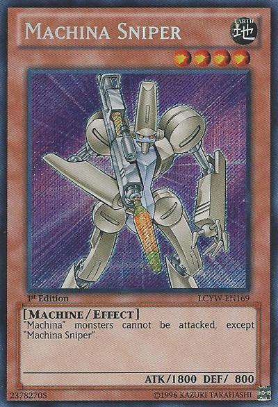 Machina Sniper Yu Gi Oh Fandom Powered By Wikia