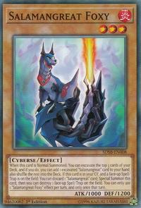 YuGiOh! TCG karta: Salamangreat Foxy