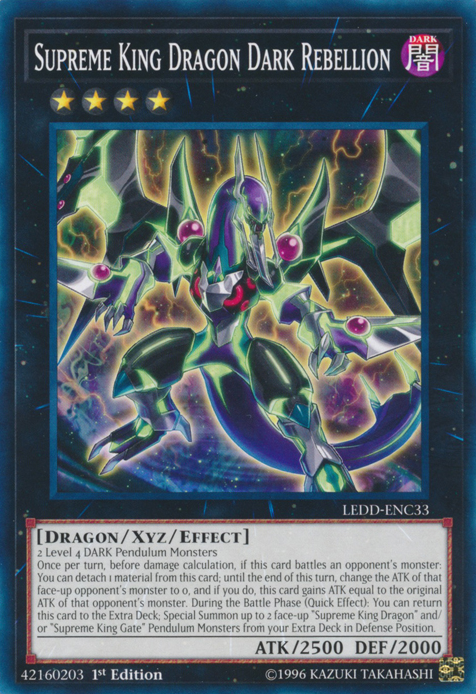 Supreme King Dragon Dark Rebellion | Yu-Gi-Oh! | Fandom