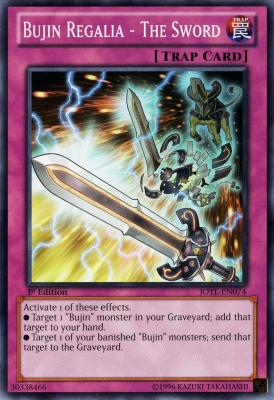 Bujin Regalia The Sword JOTL