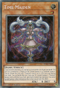 YuGiOh! TCG karta: Time Maiden