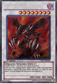 YuGiOh! TCG karta: Void Ogre Dragon