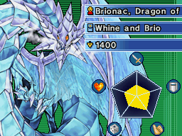 Brionac, Dragon of the Ice Barrier-WC09