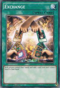 YuGiOh! TCG karta: Exchange