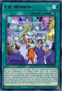 YuGiOh! TCG karta: F.A. Winners