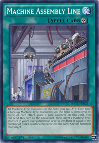 YuGiOh! TCG karta: Machine Assembly Line
