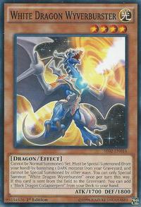 YuGiOh! TCG karta: White Dragon Wyverburster