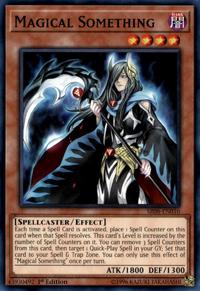 YuGiOh! TCG karta: Magical Something