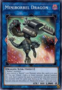YuGiOh! TCG karta: Miniborrel Dragon