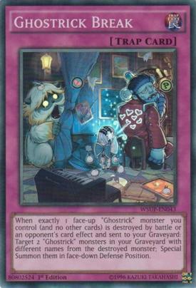 Ghostrick Break WSUP