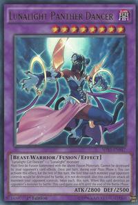 YuGiOh! TCG karta: Lunalight Panther Dancer