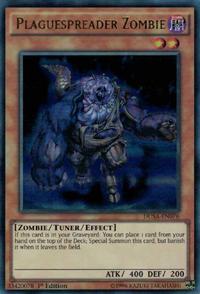 YuGiOh! TCG karta: Plaguespreader Zombie