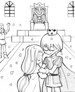 The prince and the lady's marriage