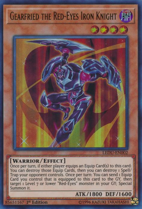 Yu-Gi-Oh Yugioh Card DP18-JP002 Red-Eyes Metal Knight Gearfried Super
