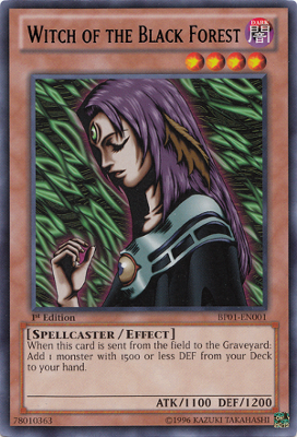 Witch of the Black Forest BP01