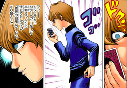 Kaiba steals Blue-Eyes