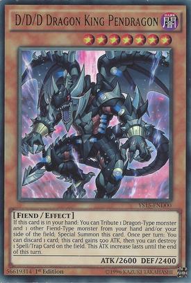 DDD Dragon King Pendragon YS15-END