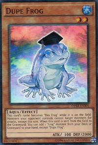 YuGiOh! TCG karta: Dupe Frog