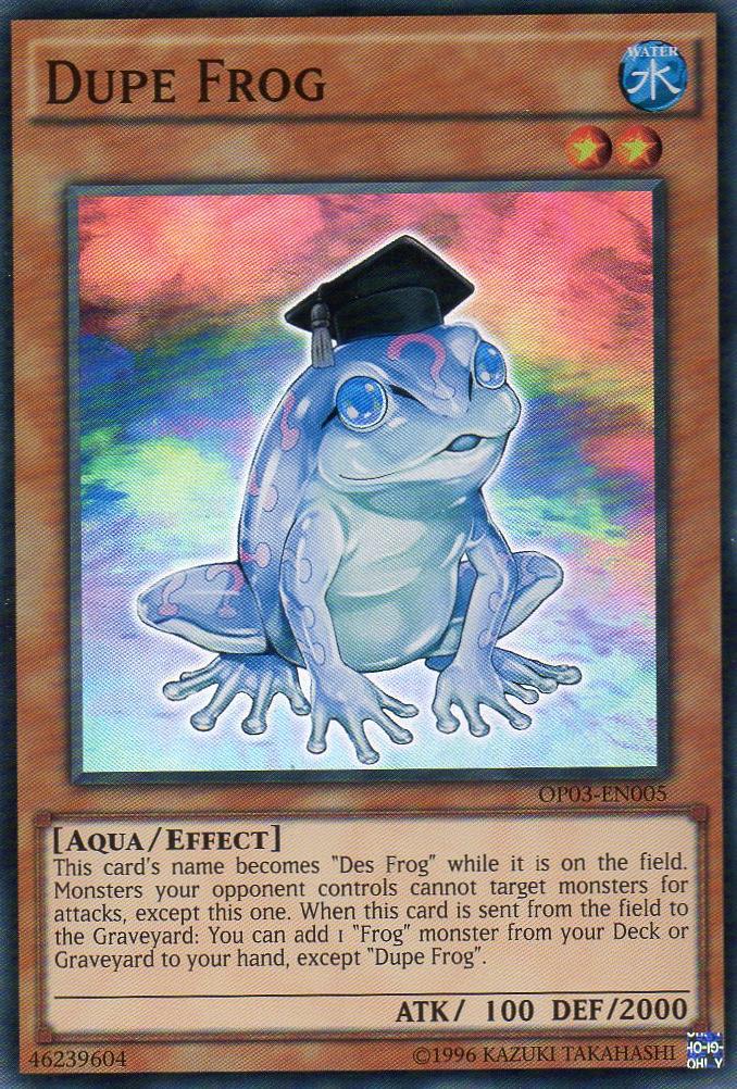 Dupe Frog   Yu-Gi-Oh!   FANDOM powered by Wikia
