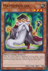 YuGiOh! TCG karta: Mathematician