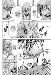 Ren's message to Yuya and Reiji