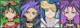 Yuya and his Counterparts
