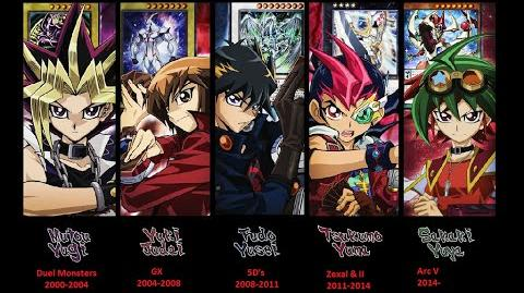 All 5 Yu-Gi-Oh Theme Songs