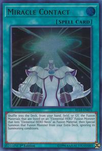 YuGiOh! TCG karta: Miracle Contact