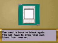 WC11 Blank Card