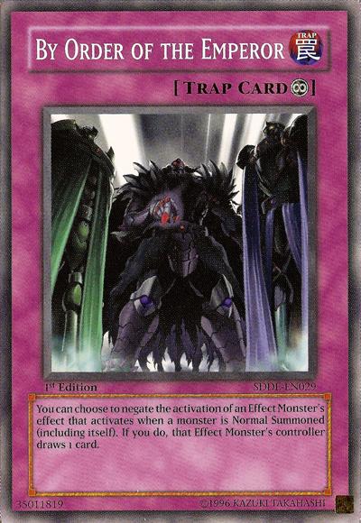 card errata by order of the emperor yu gi oh fandom powered by