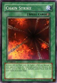 YuGiOh! TCG karta: Chain Strike