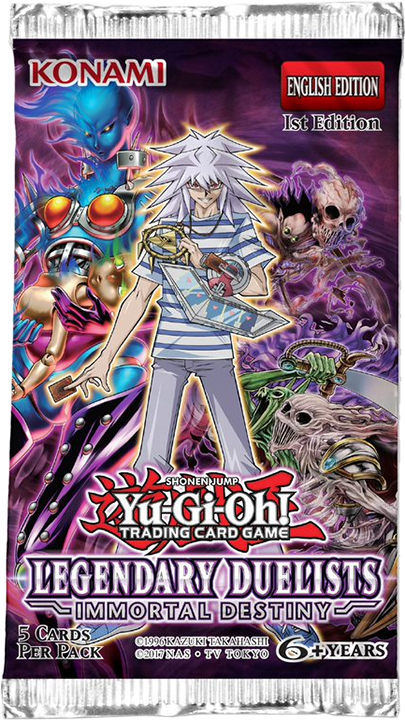 Legendary Duelists 3 Booster Set Ancient Millennium White Dragon Abyss Yu-Gi-Oh