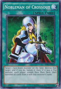YuGiOh! TCG karta: Nobleman of Crossout