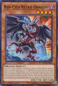 YuGiOh! TCG karta: Red-Eyes Retro Dragon