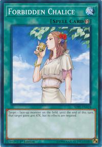 YuGiOh! TCG karta: Forbidden Chalice