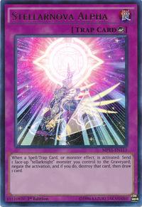 YuGiOh! TCG karta: Stellarnova Alpha