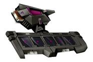 Battle City Alpha Disk - Black