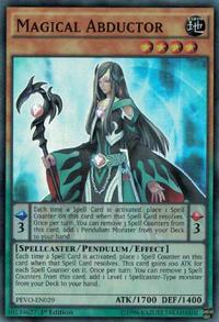YuGiOh! TCG karta: Magical Abductor