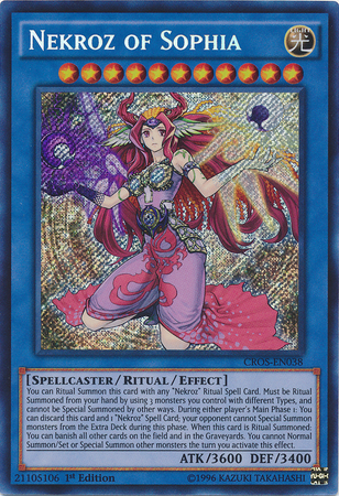 Nekroz of Sophia CROS