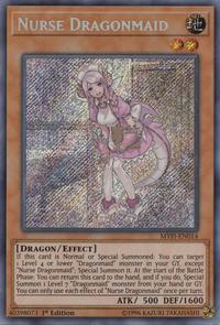 YuGiOh! TCG karta: Nurse Dragonmaid