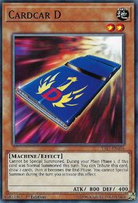 YuGiOh! TCG karta: Cardcar D