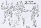 ElementalHEROSparkman-JP-Anime-GX-ConceptArt
