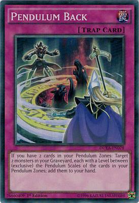Pendulum Back DUEA