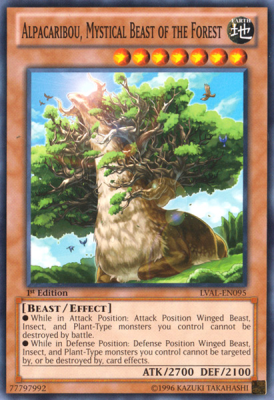Alpacaribou Mystical Beast of the Forest LVAL